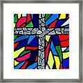Cross No 9 Framed Print