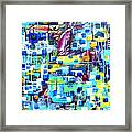 Cubic Animation Framed Print