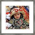 Cuenca Kids 33 Framed Print