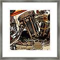 Custom Motorcycle Chopper . 7d13316 Framed Print