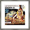 Dementia 13, Aka The Haunted And The Framed Print by Everett