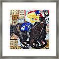 Derby Tickets 4 Framed Print