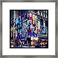 Disigual Night Framed Print