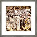 Dogs Back At The Cabin Framed Print