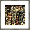 Doll - Gi Joe In Camo Framed Print