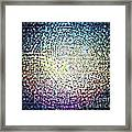 Dots Colors Framed Print