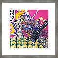 Dragonfly Framed Print by Amy Reisland-Speer