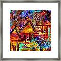 Dreamland - My Imaginary Getaway Framed Print