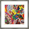 Droppin Acid Framed Print by Charles  Jennison