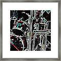 Drummer Framed Print by David Alvarez