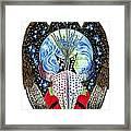 Eagle Tipi Framed Print by Tim McCarthy