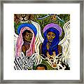 Earthangels Abeni And Adesina From Africa Framed Print