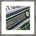 El Camino Framed Print