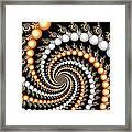 Elegant Swirls Framed Print