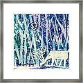 Enchanted Winter Forest Framed Print