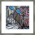 European Church  Framed Print