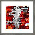 Eva Peron Nude En Rouge Framed Print