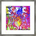 Even In Chaos Find Love Framed Print