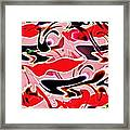 Evolve Abstract Painting Framed Print