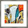 Faces Come Out Of The Rain ... Framed Print