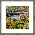 Fall Lake Framed Print