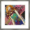 Fashion Abstraction De Dan Richters Framed Print