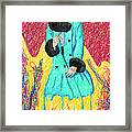 Fashion Abstraction De Eliana Smith Framed Print
