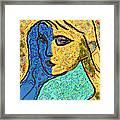 Feminine Kaleidoscope Framed Print