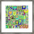 find U'r Love found    v18 Framed Print