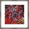 Fire Demons Framed Print
