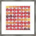 Fireballs Framed Print