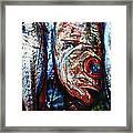 Fresh Fish At The Market Framed Print