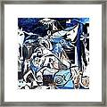 Fish Guernica Framed Print
