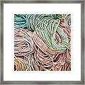 Fishing Lines Framed Print