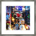 Flip Your Wig Framed Print