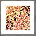 Floral Abstraction 18 Framed Print