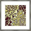 Floral Abstraction 19 Framed Print