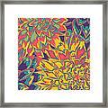 Floral Abstraction 22 Framed Print