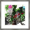 Floral Delivery Framed Print