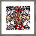 Flower Of Beads Framed Print