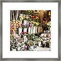 Flower Shop Framed Print