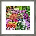 Flowers At Market Framed Print