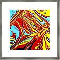 Fluid Abstracts 2011 Framed Print