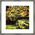 Foot Bridge Framed Print