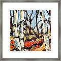 Forest Edge By Prankearts Framed Print