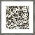 Fractal Wall Framed Print