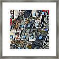 Fragmented Guggenheim Museum Bilbao Framed Print