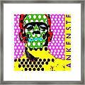 Frankenstein Framed Print by Ricky Sencion
