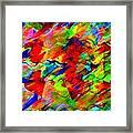 Frozen Colors Framed Print