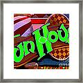 Funhouse Framed Print by Colleen Kammerer